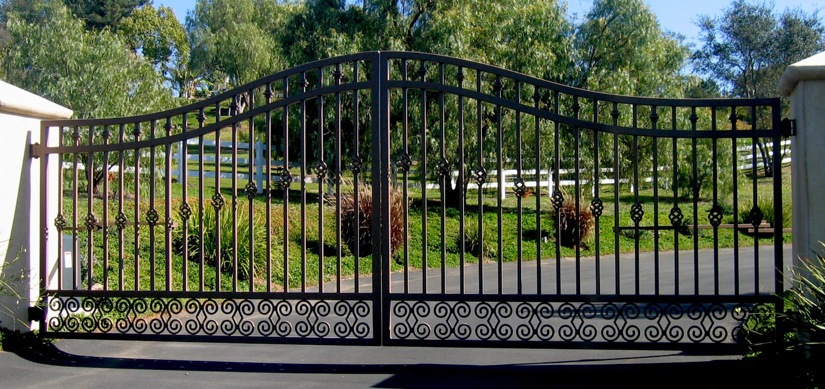 Sliding Gates Custom Iron Works